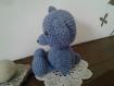 Doudou ours au crochet