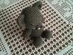 Petit ours au crochet doudou et décoration