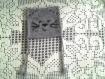 Bonnet original tête de chat gris