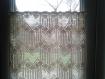 Rideaux au crochet pour porte fenêtre