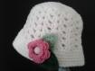 Bonnet chapeau pour petites filles coquettes