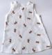 Robe bébé blanche, avec des fraises