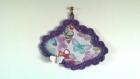 """Le cadre nuage"""" le cabinet de curiosités aux papillons """" , cadre décoratif au crochet"""
