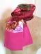 Le foulard ou tour de cou en satin de soie fleuri, une écharpe twill de soie