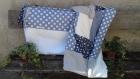 Plaid / couverture bébé / linge de lit    petite taille