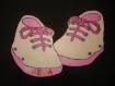 Petit chaussons avec personnalisation de votre choix