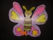 Personnage papillon avec personnalisation de votre choix