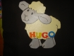 Petit mouton avec personnalisation de votre choix