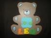 Bébé ourson avec personnalisation de votre choix