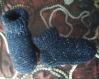 Chaussons-chaussettes bleu unisexe 36/42