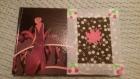 Carnet d'adresse créatif cerise et feuilles