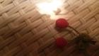 Petites cerises au crochet à accrocher partout