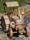 Tracteur lanz en bois avec une cabine