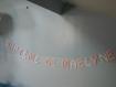 """Guirlande décoration baptême papillons 3 dimension rose pale et blanc irisé assorti au faire-part papillon 3d modèle """"maelyne"""""""