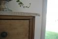Console en bois de palette -style shabby chic-
