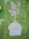 Tapis de jeu pour bébé, thème forêt des lutins, tons verts