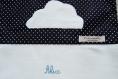 Sac à doudou avec nuage... personnalisable, pour alix!
