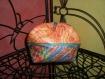 Pochette rembourrée à poser couleurs vives