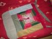 Grand sac patché grande bandoulière