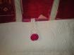 Petit sac en tissu style boutis