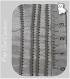 1m chaine boules billes 1-1,5mm metal argente gris mÉtal perles colliers fils *c122