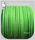 3m cordon fil suedine vert pomme fluo daim *c150
