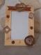 Cadre photo en bois décorer