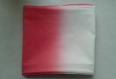 Tissu coton tie and dye/ rose blanc/ 154 x 104 cm