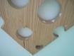 Porte cléf bulle multiforme coloré