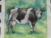 Serviette en papier vache pour serviettage