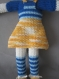 Amigurumi chat pour fille ou garcondoudou tricote avec du fil 100% coton