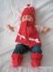Bonnet+echarpe+chaussettes laine merinos