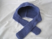 Bonnet-echarpe laine merinos