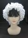 Serre-tete - foulard coiffure pour ceremonies (mariage, fetes, reception...)