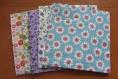 Serviettes en papier motif fleurs vendu par lot de 4