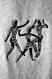 Pareo femme tissu Éponge broderie motif africain