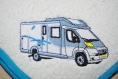 Essuie mains pour camping car profile