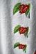 Pareo femme tissu Éponge broderie motif fleur