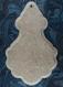 """Pampille """"p1 grande"""" bois mdf 6mm avec biseau concave à décorer pour création"""