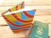 Protège passeport joli et original en wax