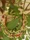 Magnifique collier en wax à la mode sénégalaise !