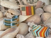 Bracelets en wax, le tissu traditionnel africain