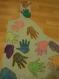 Déguisement préhistorique mains adulte réglable