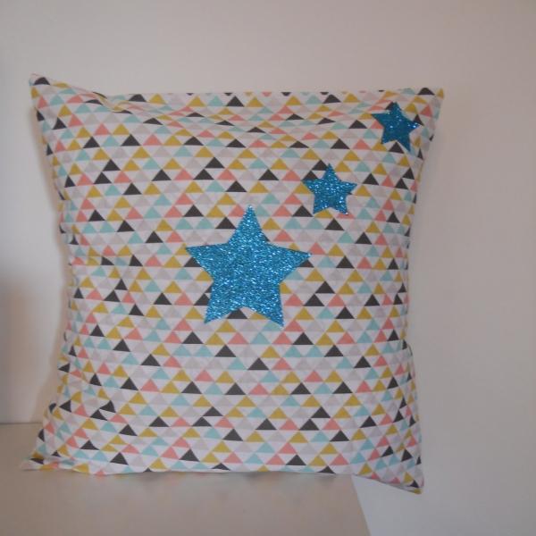 Housse de coussin 35 x 35 cm en coton : maison et deco textiles