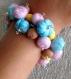 Bracelet petits fruits givrés