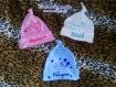 Bonnet bébé personnalisation au choix, indispensable pour la maternité, valise maternité