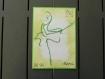 Carte de remerciement à la danseuse irlandaise