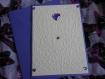 Carte petits coeurs toutes occasions violet