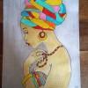 Dessin De Femme Africaine dessins femme africaine : illustrations-dessins par eliecreation