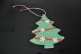 Etiquettes pour cadeaux en forme de sapin